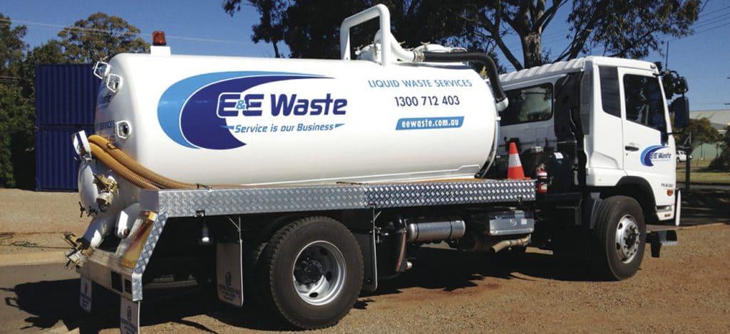 Liquid Waste Services | E&E Waste Toowoomba