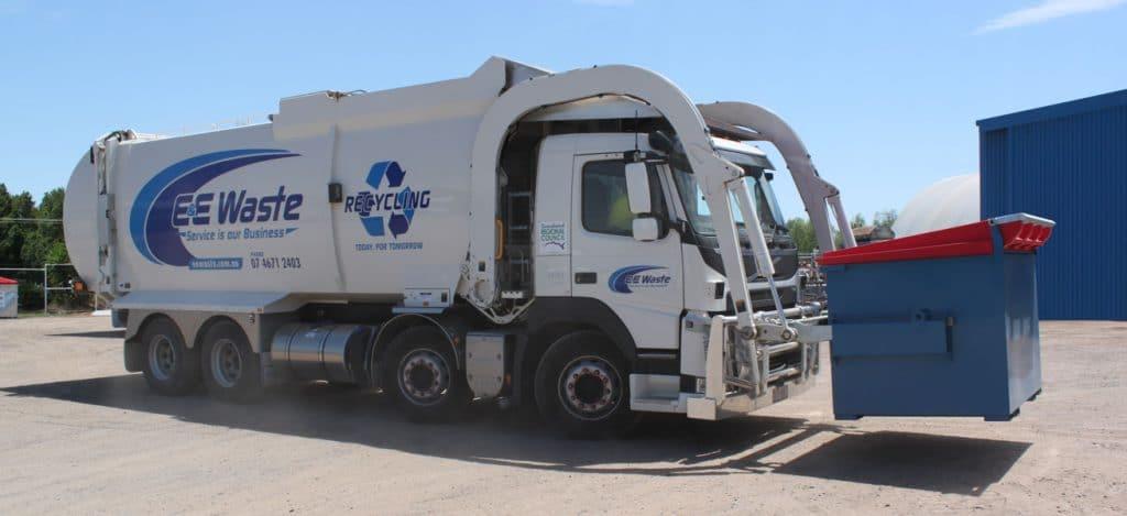 E&E-Frontlift-Truck Toowoomba