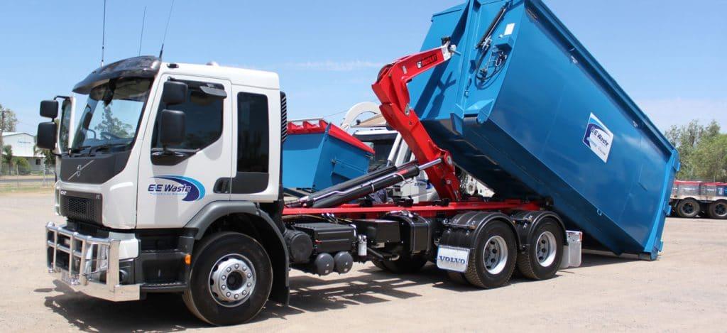 E&E Waste Heavy Vehicles Hooklift Trucks Toowoomba