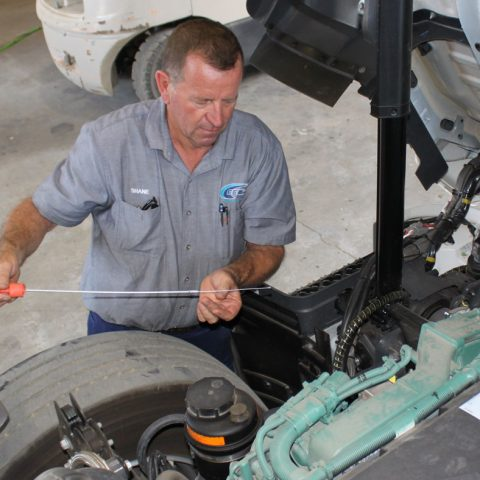 Truck Maintenance E&E Waste Management Toowoomba