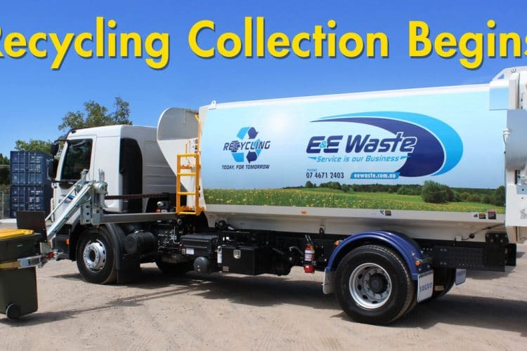 Recycling collection begins this week