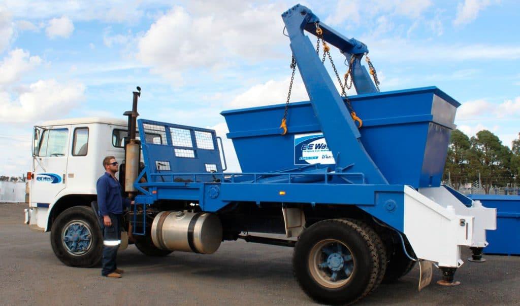 EE-Skip-bin-truck-Toowoomba