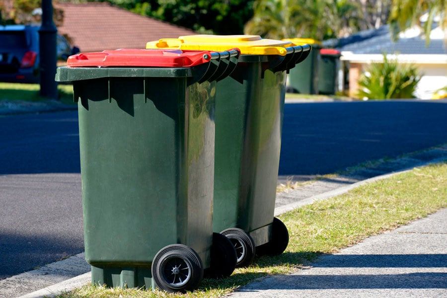 Kerb Side Pick-up Wheelie Bins