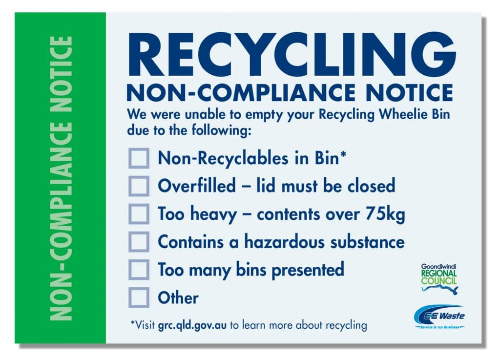 Non Compliance E Amp E Waste
