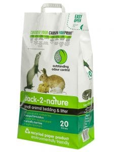 back to nature small animal litter