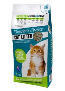 breeders choice recycled cat litter