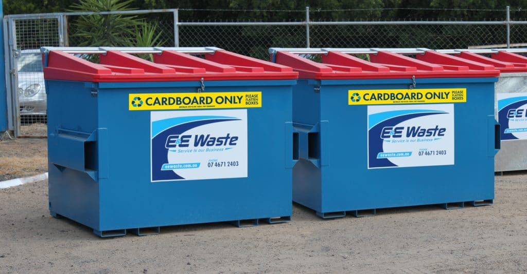 E&E Waste Cardboard Bins